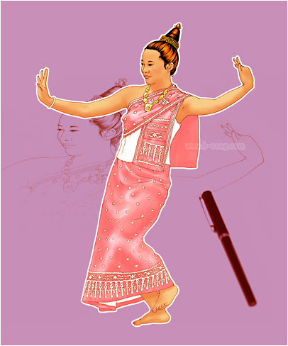 Lao Dancer