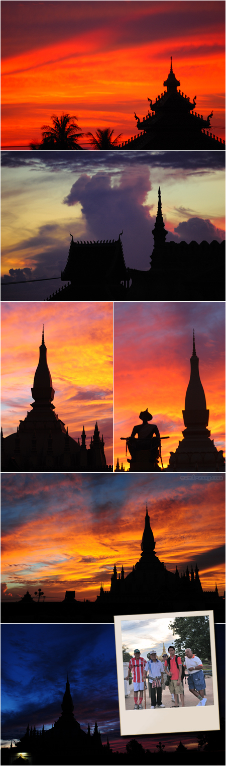 That Luang at Sunrise