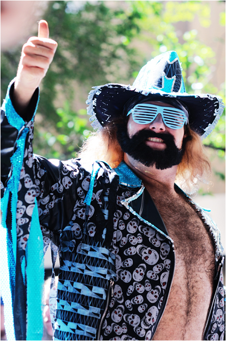 Macho Man Cosplayer at Dragon Con
