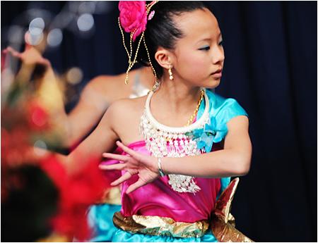 Traditional Hmong Dancer