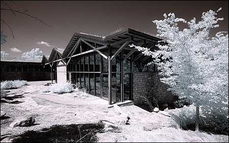 Gwinnett Environmental Heritage Center in Infrared