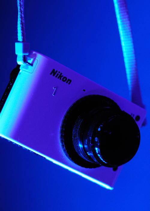 Nikon J1 and C Mount Lens