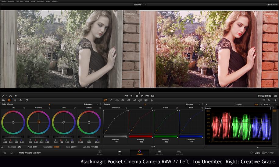 BlackMagic Pocket Cinema Camera as a Stills and Motion